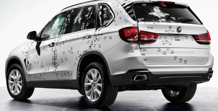 BMW X5 Armored Car