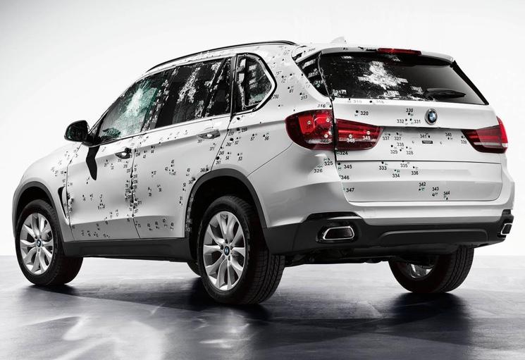 BMW X5 Armored Car