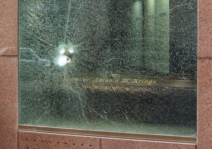 Bulletproof Glass Window