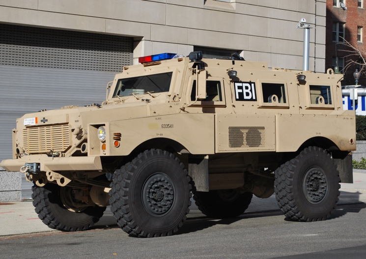 FBI Armored Vehicle