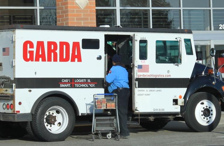 Garda Armored Car