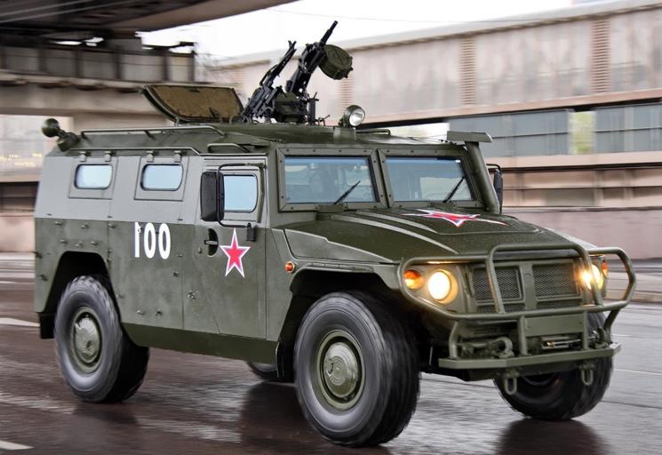GAZ 233014 Tiger Armored Car
