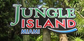 Заповедник jungle island miami