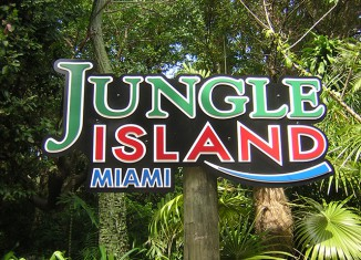 Заповедник jungle island miami