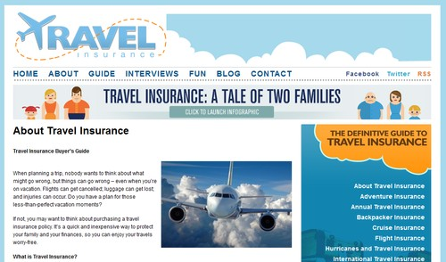 Travel Insurance Tips at Travelinsurance.org