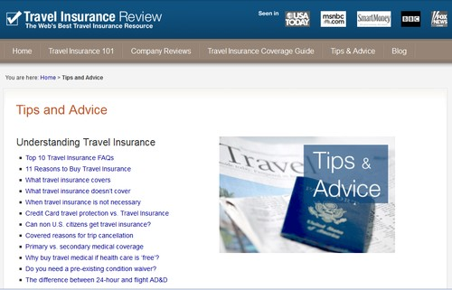 Travelinsurancereview.net
