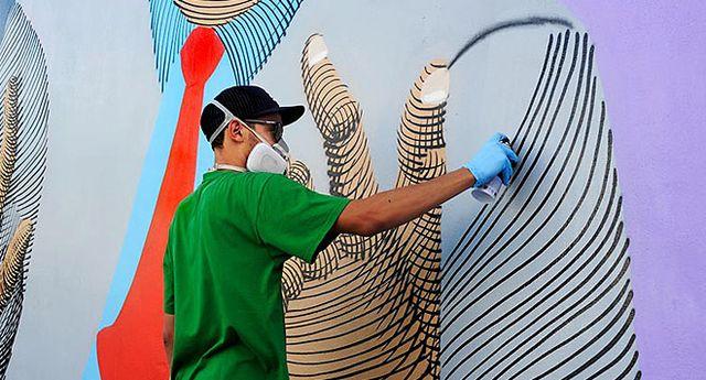 постоянная эволюция стрит арт граффити